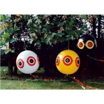 Effaroucheur visuel pack trois ballons effaroucheur oiseaux volgeur effar - Anti oiseaux electronique ...